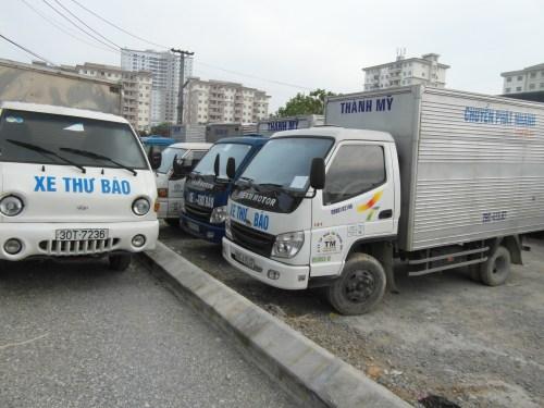 Lái xe tải chuyên nghiệp - Vận chuyển hàng hóa nhanh chóng