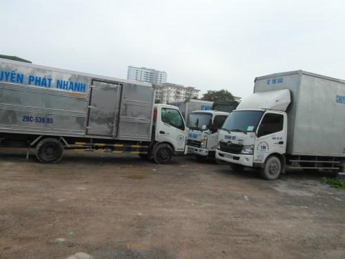 Lái xe tải vận Chuyển Hàng Bắc - Trung - Nam